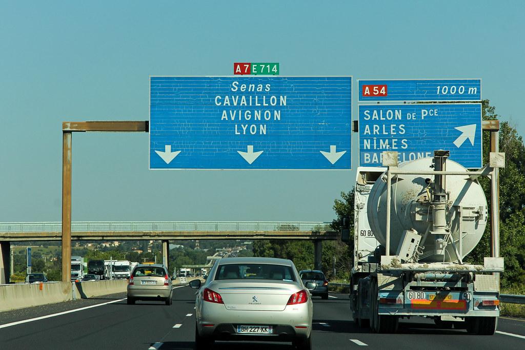 """Top Autoroute A7 """"Autoroute du Soleil"""" (France)   Autoroute A7 """"…   Flickr XZ06"""