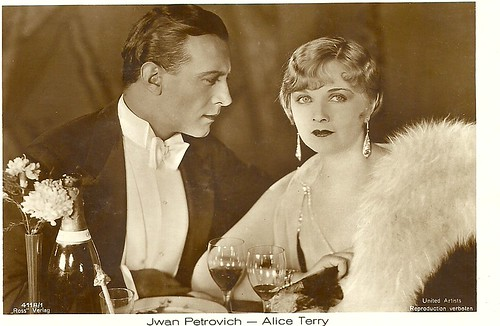 Ivan Petrovich and Alice Terry in The Three Passions (1929)