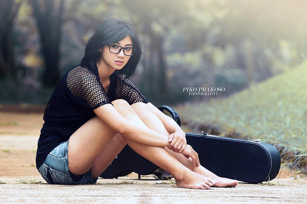 that girl piko prakoso flickr