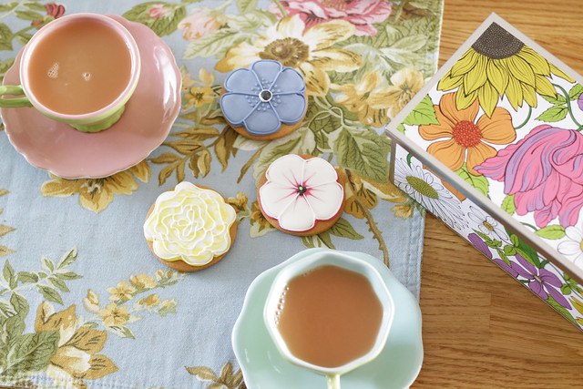Tea and biscuiteers biscuits