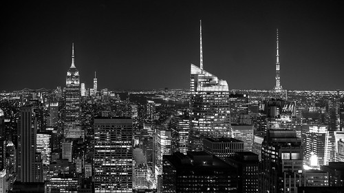 New York - Skyline - from the Rock to Liberty view | by riese.laurenc