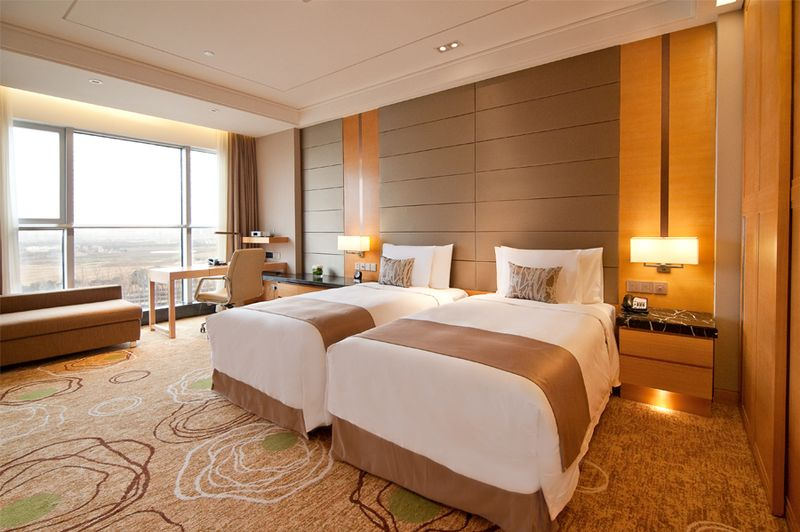 ... Bright Spacious Modern Superior Twin Bed Room At The Crowne Plaza  Shanghai Anting | By Crowne