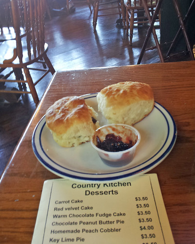 Biscuits & Muscadine Preserves