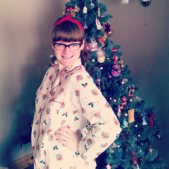 f9419e102e Having a hunzo Christmas in my Xmas jammies from  teelydon - Merry  Christmas everyone!
