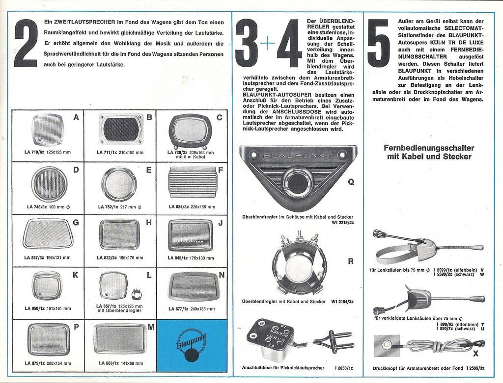 BLAUPUNKT Autoradio und Portable Radio Dealer Brochure (W-…   Flickr