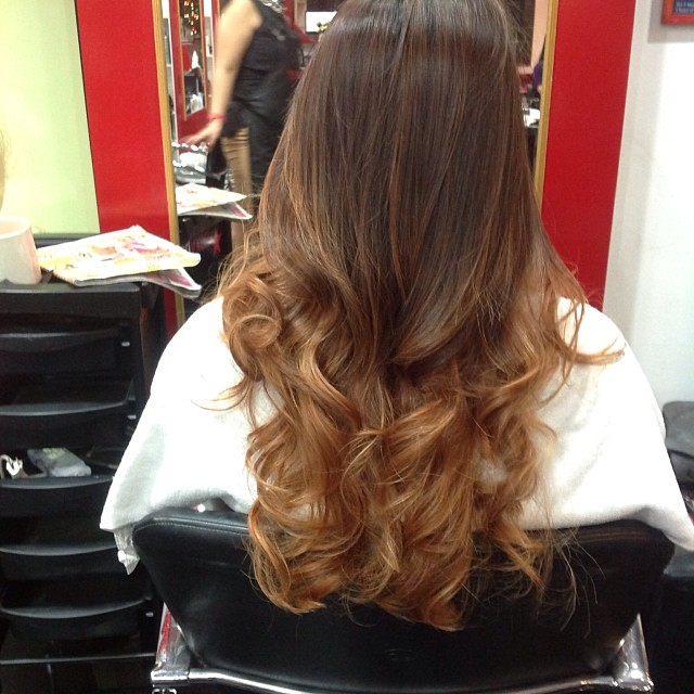 Ombre & Balayage hair color in Bangkok Thailand. Www.faceb… | Flickr