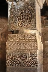 Cave 1. Ornamental Pillars (2)