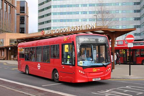 Metrobus SE174 on Route 455, West Croydon Bus Station