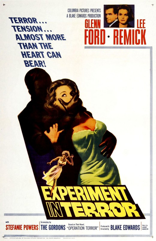 Experiment in Terror - Poster 1