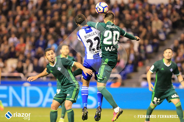 Liga Santander. Deportivo 1 - Betis 1