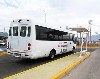 SCL Buses estacionamientos (Nuevo Pudahuel)