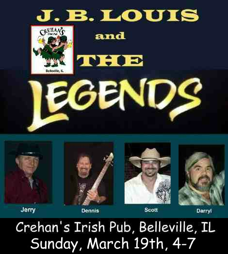 J.B. Louis and The Legends 3-19-17