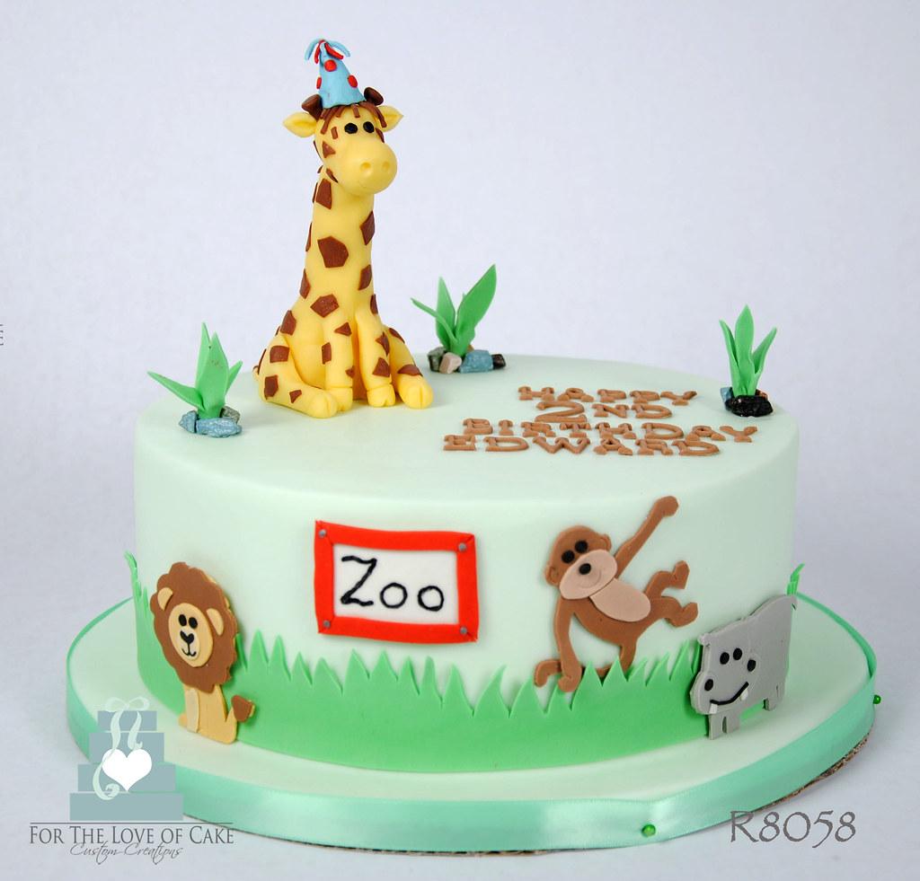 R8058 Zoo Birthday Cake Toronto Oakville R8058 Zoo Birthda Flickr