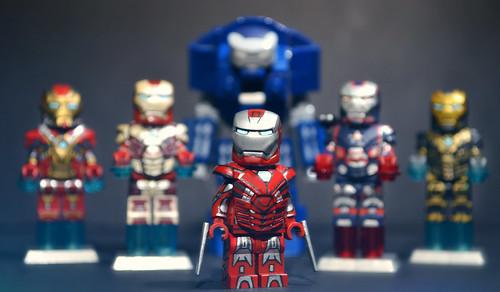 lego iron man 3 mark 33 silver centurion suit heres