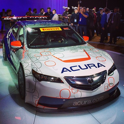"""""""We Race To Win"""": 2015 #Acura TLX Race Car"""