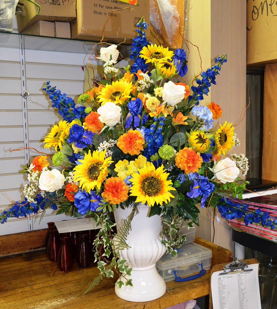 Silk Flowers For Podium Colorful Summer Color Flickr