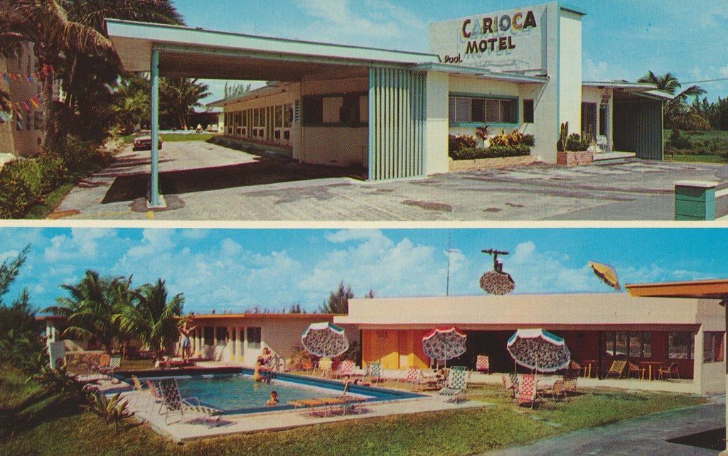Carioca Motel - Hallandale Beach, Florida
