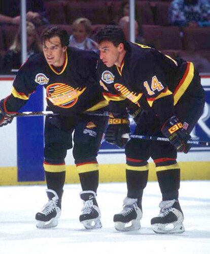 Courtnall Canucks