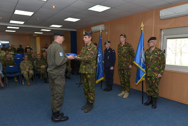 KFOR marks the end of Netherlands' contribution to the mission