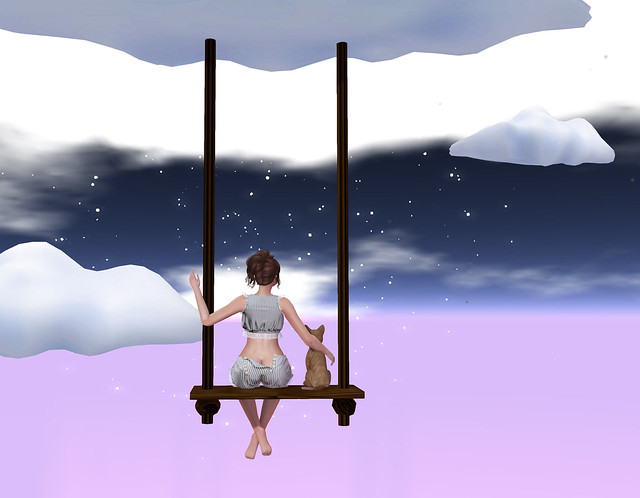 Our Universe, Something New- props n poses, @ Alone in the Universe Cart sale