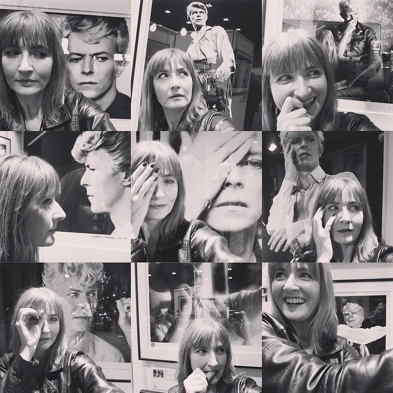 """Selfies: Denis O'Regan """"David & i"""" David Bowie photography exhibition"""