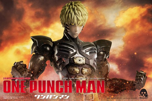 threezero genes one punch man