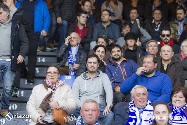 La afición en el Dépor vs Betis