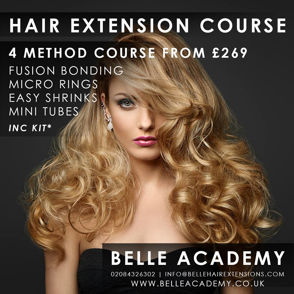 Hair Extension Training Belle Academy Manchester Flickr