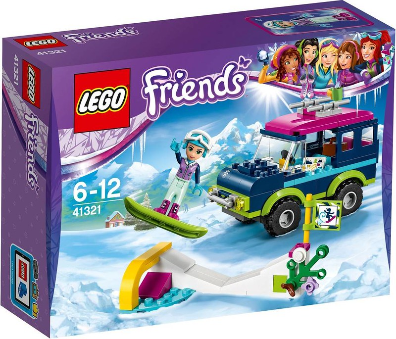 LEGO Friends Snow Resort Off-Roader (41321)