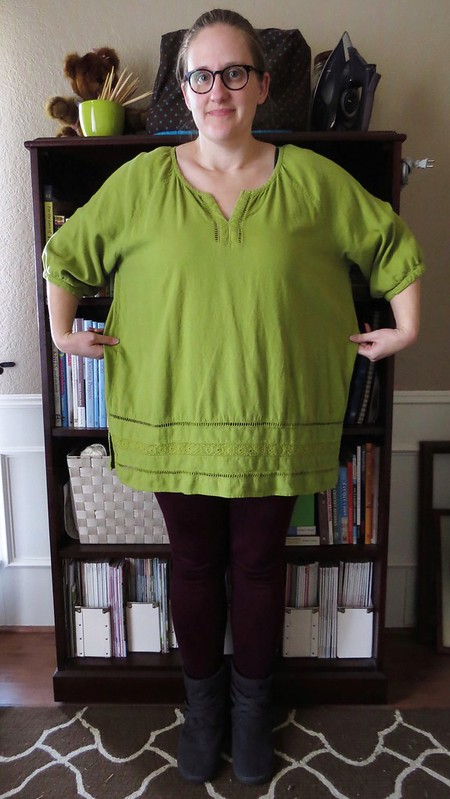 St Patrick's Day Tunic - Before