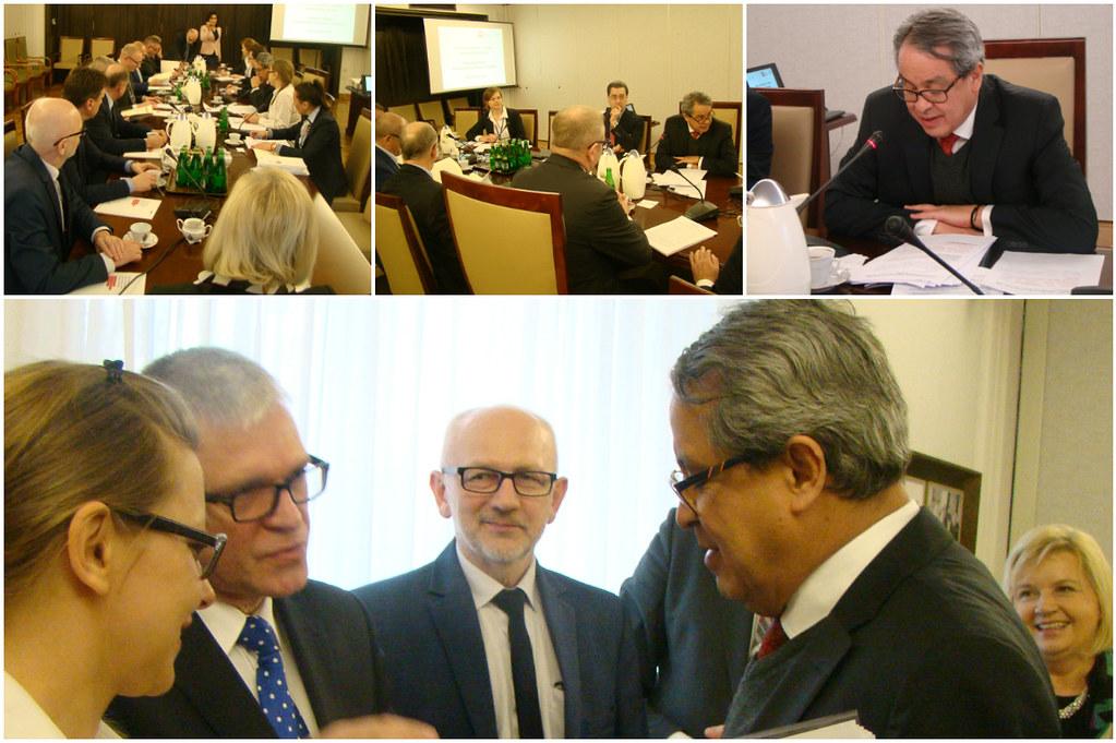 Se instala el Grupo Parlamentario México – Polonia en el Senado de Polonia, con participación del Embajador de México.