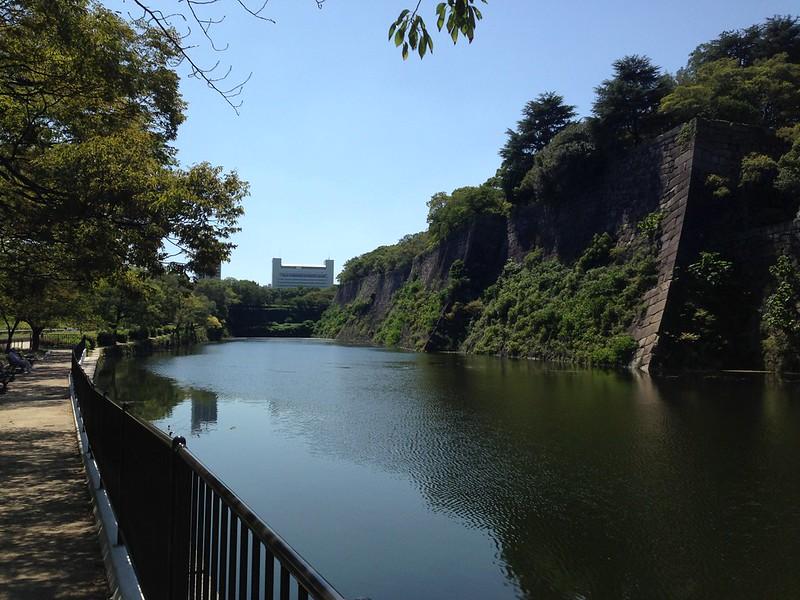 Osaka Castle Park Inner Moat