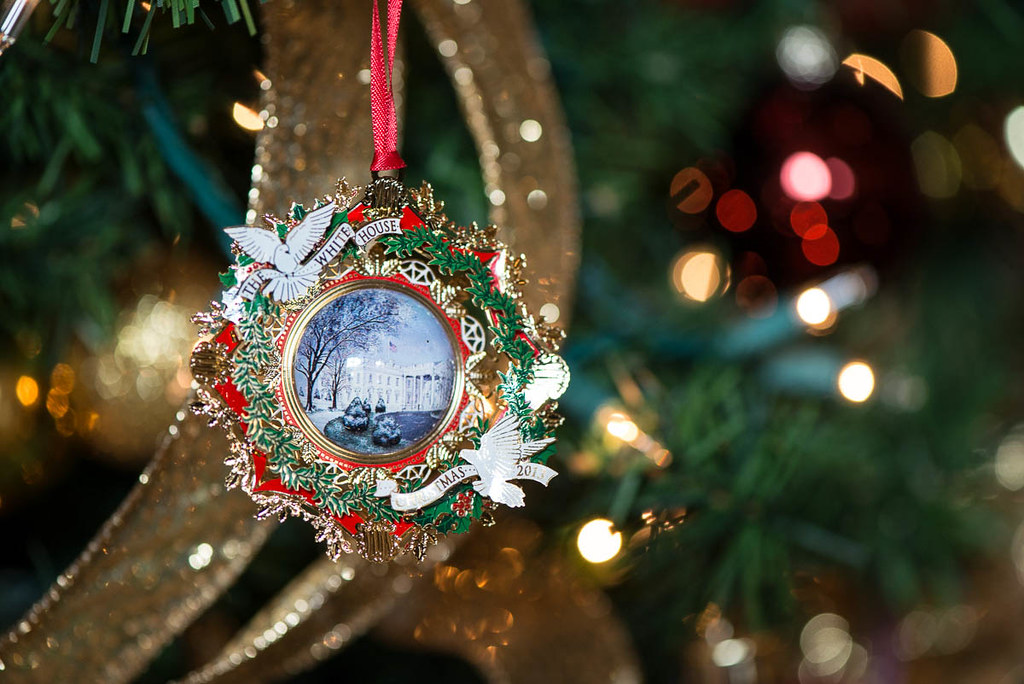 ... 2013 White House Christmas Ornament | by The White House Historical  Association - 2013 White House Christmas Ornament The Centerpiece Of The… Flickr