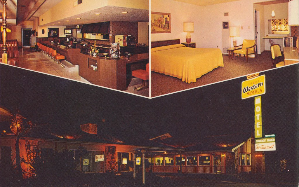 Somerset Manor Motel - San Luis Obispo, California