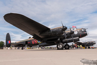 Two Lancasters 2014 | by evansaviography