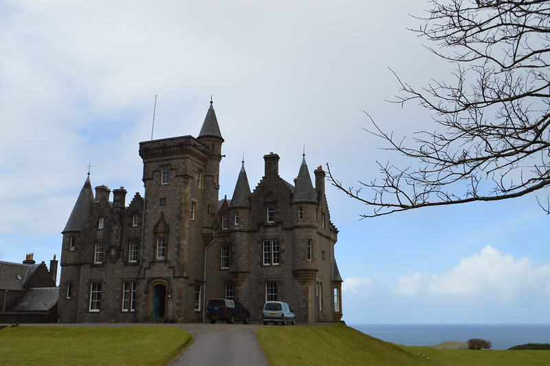 this is a picture of the exterior of Glengorm Castle,