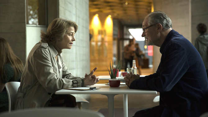 Charlotte Rampling and Jim Broadbent get THE SENSE OF AN ENDING.