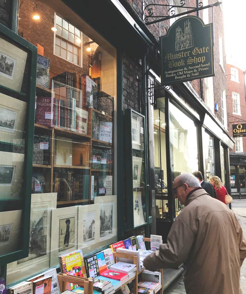 things to do in york city guide to york bookshop crawl lifestyle blogs in the uk vivatramp