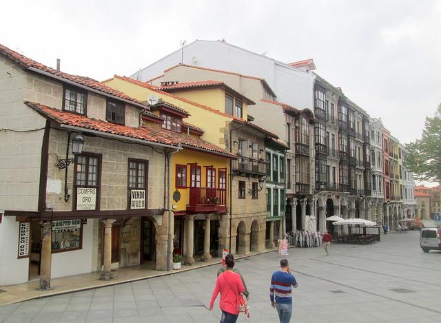 Street in Avilés