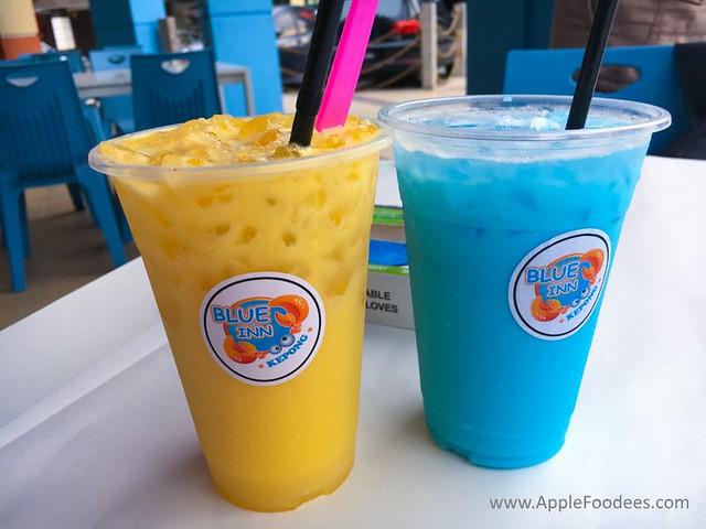 Blue Inn Seafood Kepong Drinks