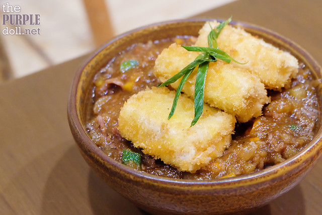 Tofu Steak Donburi (P139) +P60 Sukiyaki