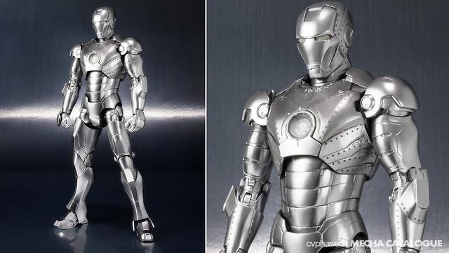 Tamashii Web Exclusive - S.H.Figuarts Iron Man Mark 2