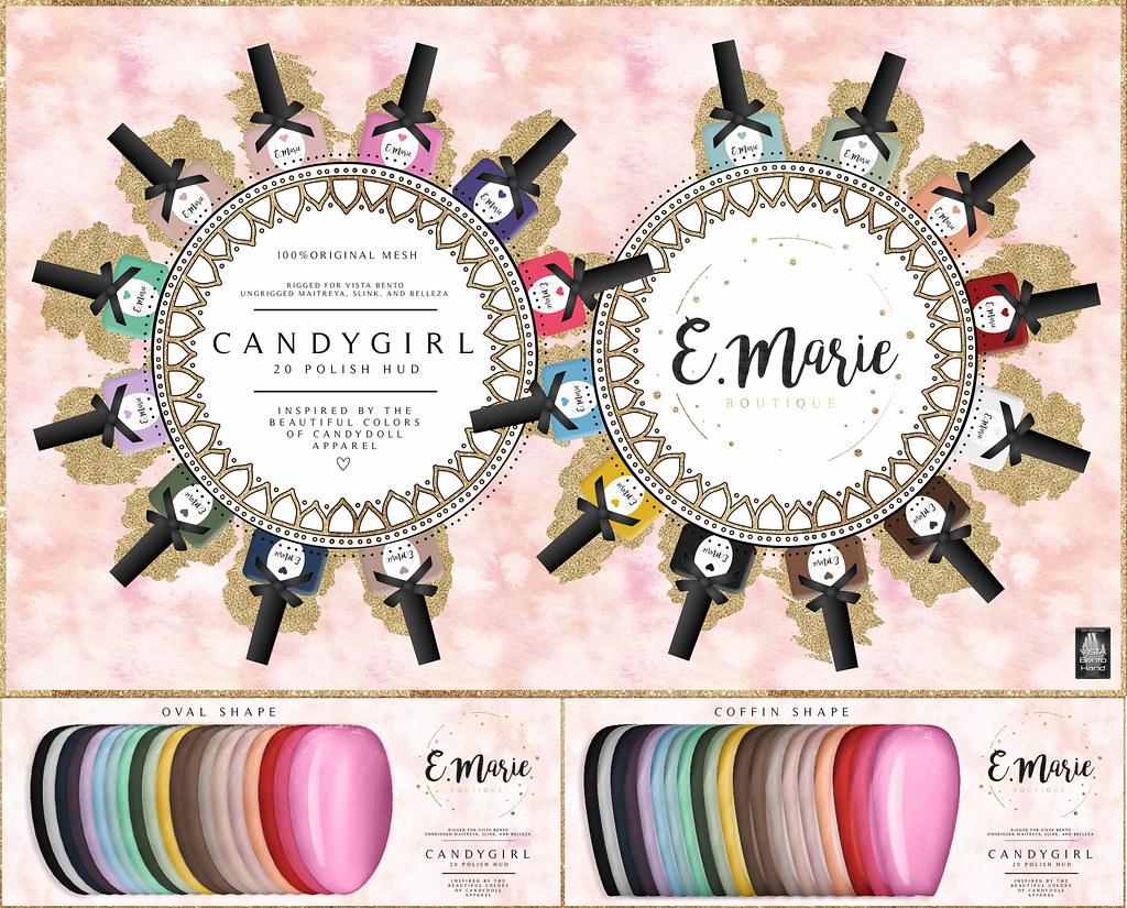 e.marie // CandyGirl Polish Set