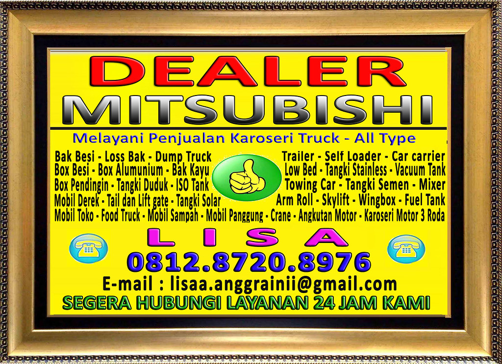 Bingkai Logo Mitsubishi - Lisa Dessy