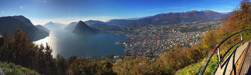 Monte Brè panorama