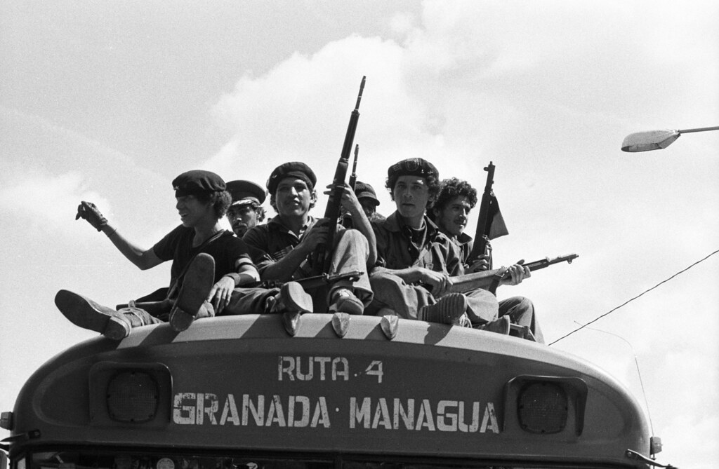 Sandinistas entering Managua, Nicaragua,-1979 | by Marcelo  Montecino