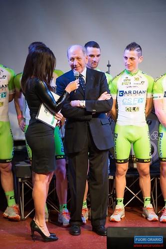 24/01/2014 Squadra Ciclismo Bardiani al Fuori Orario