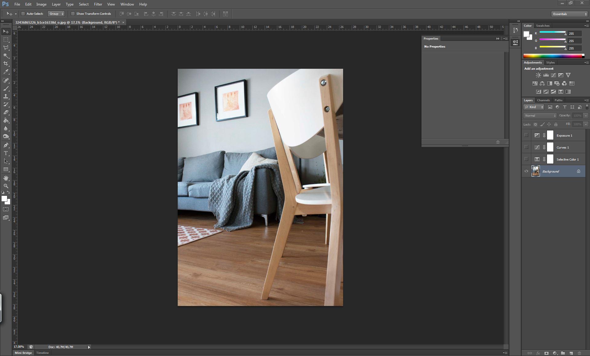 filter look tutorial photoshop