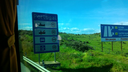 On the road from Jerez, Spain to Tavira, Portugal