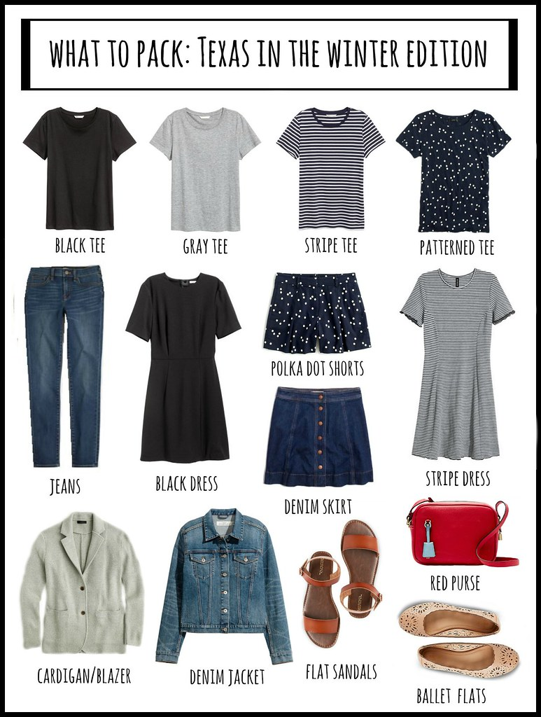 what to pack for texas, winter edition | Style On Target blog